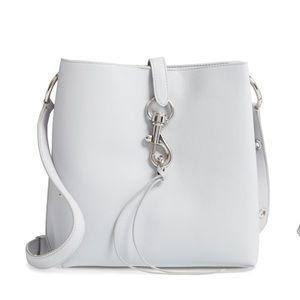 NWOT Rebecca Minkoff Megan leather bucket bag